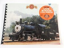 Vintage Railroad Supply Large Scale Live Steam and Diesel Locomotives Catalog