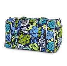 Disney Vera Bradley Duffel Bag Where's Mickey Blue Lime Green Navy Theme Parks