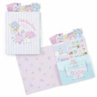Little Twin Stars Volume Letter Set Sanrio 2020 NEW kawaii Kiki Lala F/S