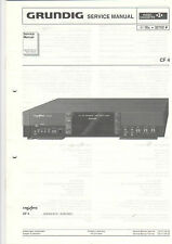 Grundig Service Anleitung Manual CF 4 B478