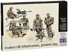 Masterbox 1:35 Scale Modern UK Infantrymen, present day Figure MAS35180