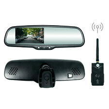 "OEM Rear View Mirror, 4.3"" High Brightness LCD & Wireless Transmitter, Universal"