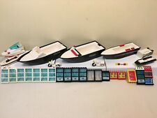 LEGO Police Boats, Motorcycles, Windows, Doors, other parts