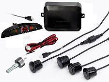 BLACK Car Reverse Parking 4 Sensor Security Led Display With Buzzer & Display