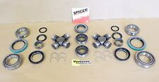 Chevy K30 Dana 60 Front Bearing Seal And Greaseable U Joint Kit OEM Dana Spicer