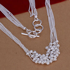 sterling silver jewelry fashion women wedding classic retro necklace cute charms