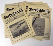 18 alte Zeitschriften Fortbildung Zivil- & Militäranwärter