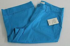 NEW Christopher & Banks Womens Size 8 Blue Shorts Comfort Stretch NWT