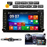 "Car DVD CD Player 6.2"" 2DIN In Dash GPS Navigation+Map+BT+Radio Stereo+Mirror HD"