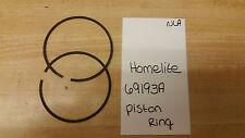 Homelite Piston Ring Set of 2 Part # 69193a NOS NLA