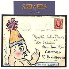 MS2876 1934 GB HAND-ILLUSTRATED *Chickey-Wickey* Sydenham Cover CHICKEN ANIMALS
