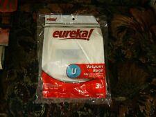 Eureka Genuine U (3) Vacuum Bags New.