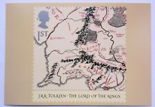 GREAT BRITAIN PHQ CARD SG2429 LORD OF THE RINGS MIDDLE EARTH MAP UNUSED 2004