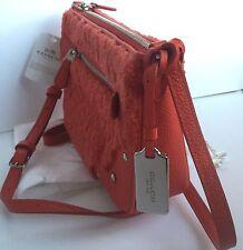 NWT COACH 36490 SHERLING Small Rhyder Pochette Crossbody Bag In Orange. NWT