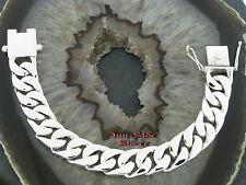 PANZERARMBAND Silberarmband Massiv Silber 925 Armband bracelet Gliederarmband