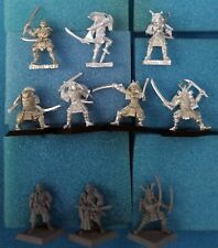 10 Assorted Dragon Clan minis — Clan War L5R Legend of the Five Rings samurai