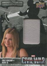 Captain America Civil War Costume Card BB-SC Emily VanCamp as Agent 13