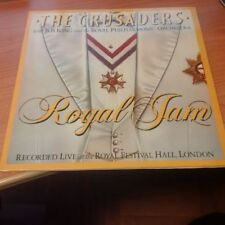 DLP THE CRUSADERS WITH B.B. KING ROYAL JAM MCA 250 404-1 EX+/NM EUROPE 1984
