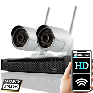 2MP Wireless CCTV Camera 8 Channel NVR Home Security WIFI Outdoor CCTV System