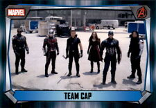 Topps Trading Card 98 - Team CAP - Marvel Missions 2017
