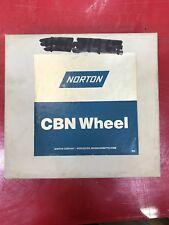 Norton CB120-TB99-1/8 CBN Grinding Wheel 7 x 1/4 x 1 1/4