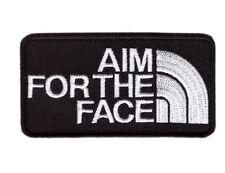 Hook Aim For the Face 2nd Amendment Tactical Bag Cap Morale Gear Patch