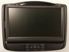 Lincoln MKT 2010-12 headrest LCD video display screen +DVD player.RSE rear seat