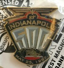 1997 Indianapolis 500 Event Collector Lapel Pin Indy 500 Indy Car 81st Running