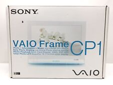 "Sony VAIO VGF-CP1 Digital Photo Frame 7"" Display Wi-Fi, MINT CONDITION!"