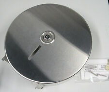 New Bobrick Jumbo Toilet Tissue Dispenser Stainless Steel B-2890 w/ Key