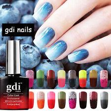 gdi nails Colour Changing Soak Off UV/LED Salon Gel Nail Polish + FREE OPI FILE
