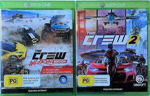 The Crew and The Crew 2 Game Bundle Xbox One