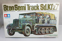 mb1192, RAR Alter Tamiya 3033 Sd.Kfz7 Halbkette Motor mint BOX 1:35 Bausatz Kit