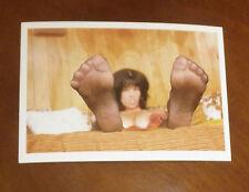 Tarjeta postal erotismo elmer bateador pies feet fetish Toes medias de medias fetiche