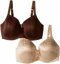 New Playtex Body Revelations Underwire Bra 2-Pack (Plus Sizes) Style Number V585