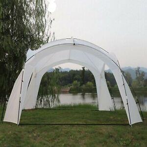 Pavillon 3,5 x 3,5 m Gartenzelt Partyzelt Garten Zelt Festzelt Event Fiberglas