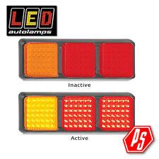 LED Autolamps Stop/Tail/Indicator LED Lamp 80BARRM (SINGLE LIGHT)