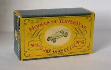 Repro box MATCHBOX MOY Nº 06 Bugatti type 35 plus