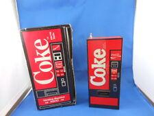 RETRO 1982 COKE MINI RED VENDING MACHINE AM/FM RADIO COCA COLA