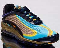 Nike Air Max Deluxe Men Lifestyle Shoes Midnight Navy Laser Orange AJ7831-400