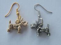 Terrier, Dogs Scottish canine friend, Westie, Norwich, Aussie 3D earrings