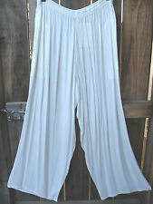 ART TO WEAR ANACAPA PANTS IN CLASSIC SOLID WHITE BY MISSION CANYON,OS+,