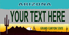 Custom Arizona License Plate Personalize novelty License Plate You pick text