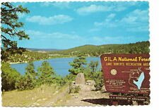 NM Gila National Forest Sign Vtg New Mexico Postcard