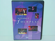 """*** DVD-Fourplay """"a Evening of Fourplay-volumi I and II"""" -2001 Eagle Vision ***"""