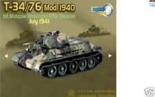 DRAGON 60149 ARMOR 1/72 T-34/76 Mod 1940 Tank 1st Moscow Motorized Rifle Div.