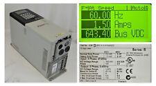 Low Hrs Allen-Bradley PowerFlex 700 20BD5P0A3AYNAND0 3 HP SER B 480V Tested Good