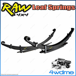 "Ford Ranger PJ PK 4WD RAW Rear Leaf Springs Heavy Load 200-400kg 2"" 40mm Lift"