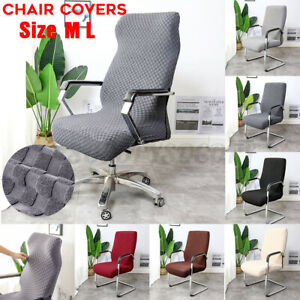 Large Elastic Computer Office Chair Cover Slipcover Stretch Slipcover Protector