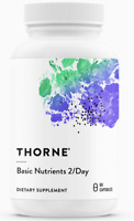 THORNE Basic Nutrients 2/Day (NSF Certified for Sport) 60 Veg Kaps, VERSAND WELT